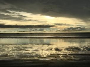 glitzernder Sand